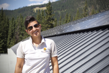 On the job with a solar technician in Alberta