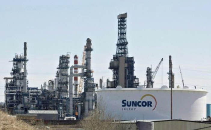 Suncor earnings up on record production, throughput and better prices