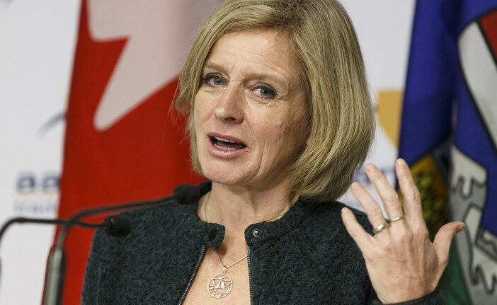 'Join the fight': Notley calls for unity across party lines to get pipeline built