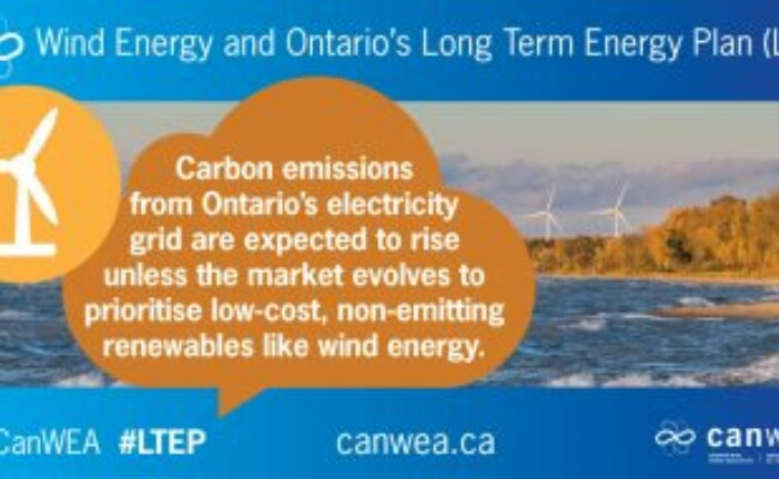 Ontario benefits from the competitive procurement of wind energy