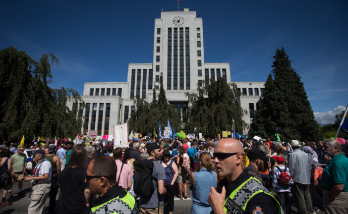 Vancouver anti-racism rally spread a message of love, tolerance