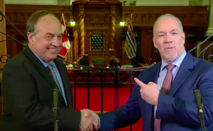 B.C. NDP and Green Party cooperation holds promise for clean economy