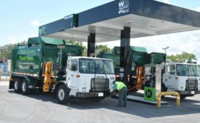 Waste Management celebrates 100th natural gas fuelling station