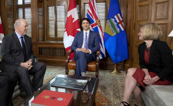 Trudeau pledges money, new law to 'remove the uncertainty' hanging over Trans Mountain expansion