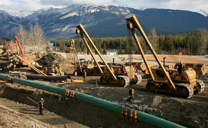 Trans Mountain pipeline on hold as pressure mounts on B.C. to drop opposition