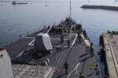 U.S. crude hits highest since 2014 on missile concerns