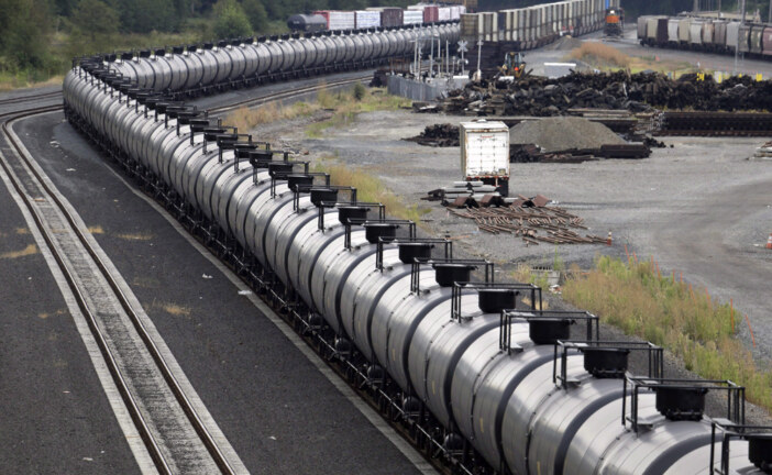 Oil-by-rail reaches record levels in May — on track to rise higher still amid pipeline crunch