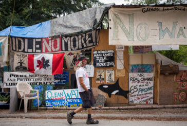 Trans Mountain pipeline protest camp to be dismantled by RCMP today