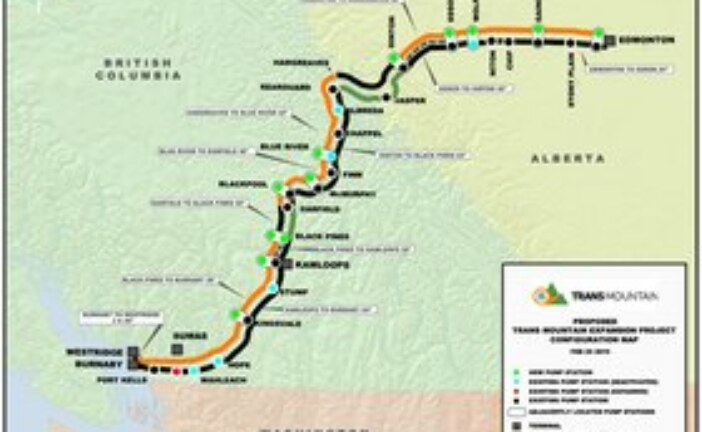 Trans Mountain cleared to begin construction from Edmonton to Kamloops