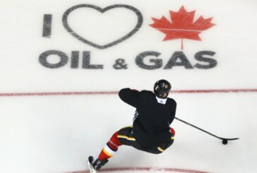 'We felt we needed to stand up': Flames give an assist to pro-energy movement