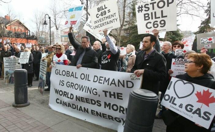 Varcoe: At 'Ground Zero of the pain,' Albertans push to derail Bill C-69