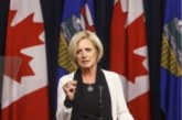 Premier Rachel Notley moves to restrict oilsands production in face of oil price crisis