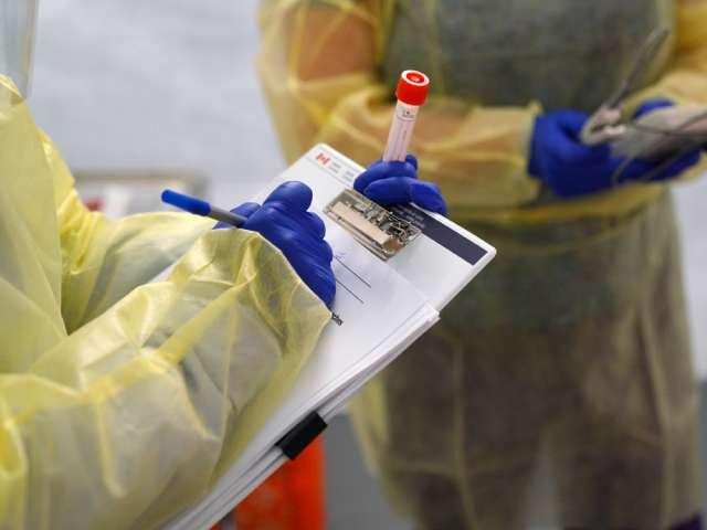 Coronavirus testing in Ontario.