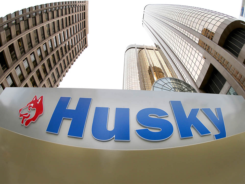 Husky Energy headquarters in downtown Calgary on Wednesday, April 29, 2020.