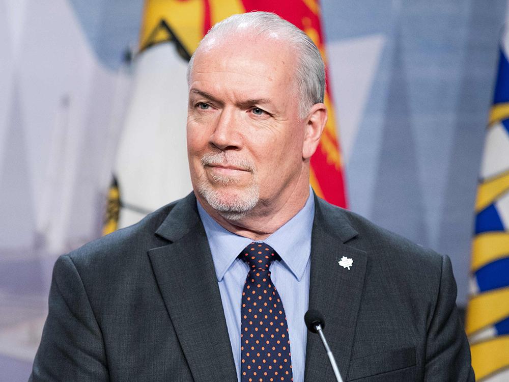B.C. Premier John Horgan.