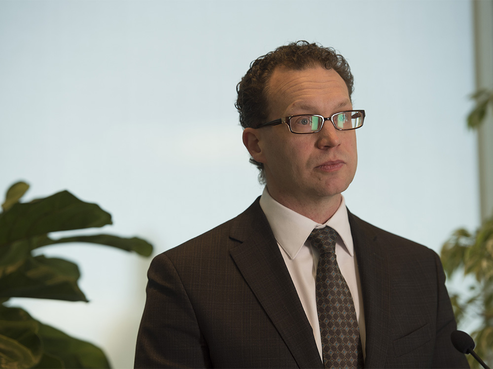 Marlin Schmidt, NDP Environment Critic on April 2, 2020.