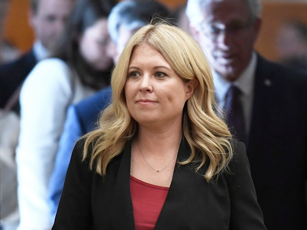 Conservative MP Michelle Rempel arrives for an emergency meeting of the Citizenship and Immigration Committee on Parliament Hill in this 2018 file photo.