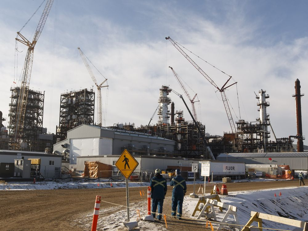 The North West Redwater Partnership's Sturgeon Refinery in Alberta's Industrial Heartland.