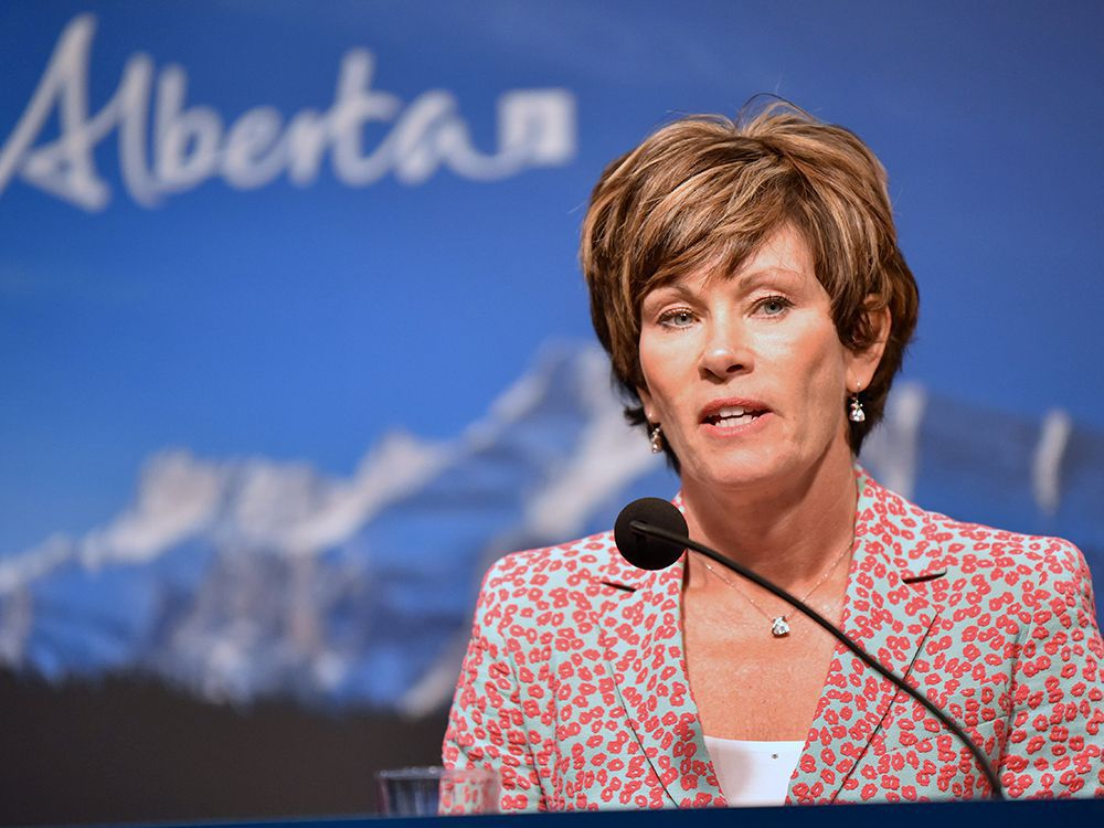 Alberta Energy Minister Sonya Savage.