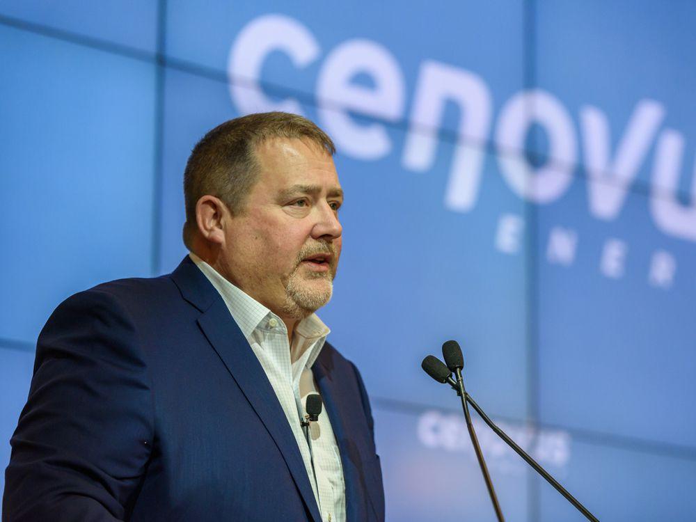 Cenovus CEO Alex Pourbaix in January.