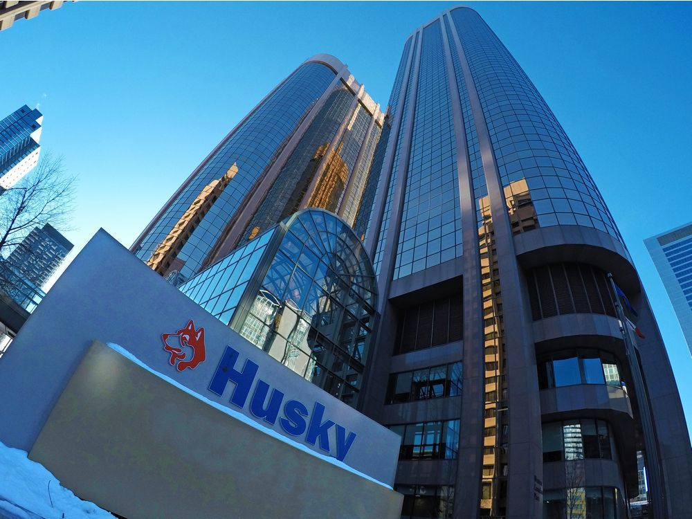 The Husky Energy head office was photographed on Sunday, Oct. 25, 2020. Cenovus Energy is buying Husky Energy for $23.6 billion the companies said in a joint announcement Sunday.