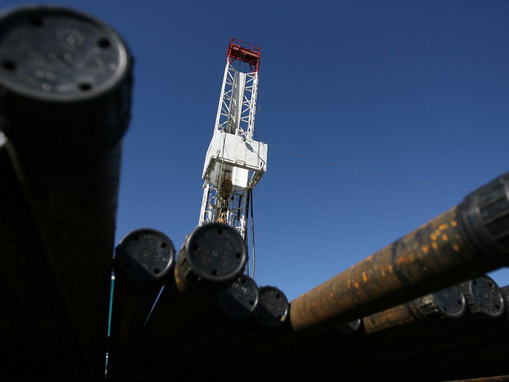 A Tourmaline Oil drilling operation in Alberta.