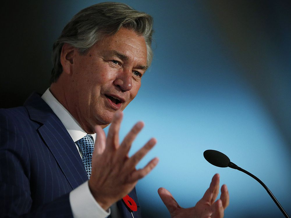 Former Canadian ambassador to the United States Gary Doer in 2016.