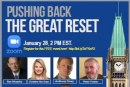Pushing Back The Great Reset – FREE Panel Discussion Including Rex Murphy: Register Here:
