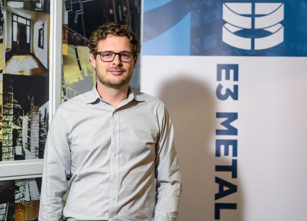 Chris Doornbos, chief executive of Calgary-based E3 Metals Corp.