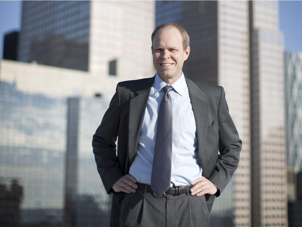 Phil Hodge of Pine Cliff Energy in Calgary, Alberta on Nov. 27, 2012
