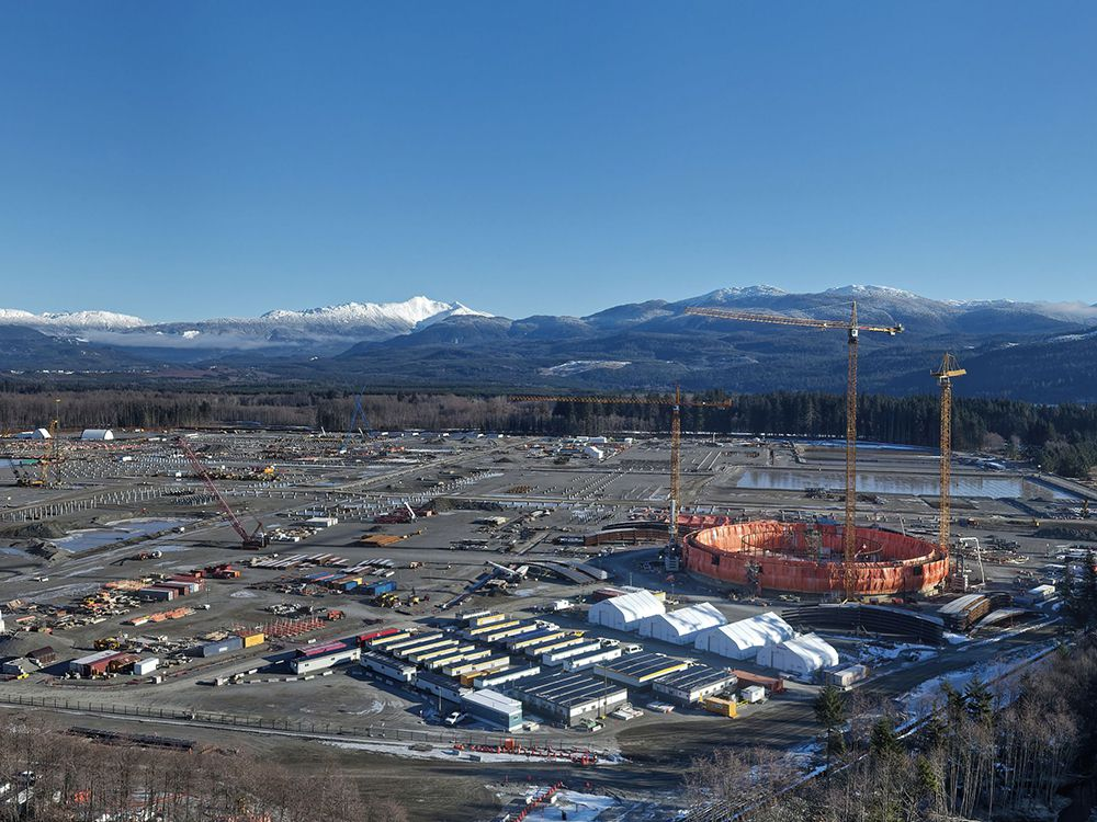 Development of the LNG Canada project near Kitimat, B.C., is expected to spur employment.