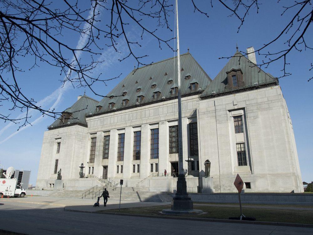 The Supreme Court of Canada in Ottawa.