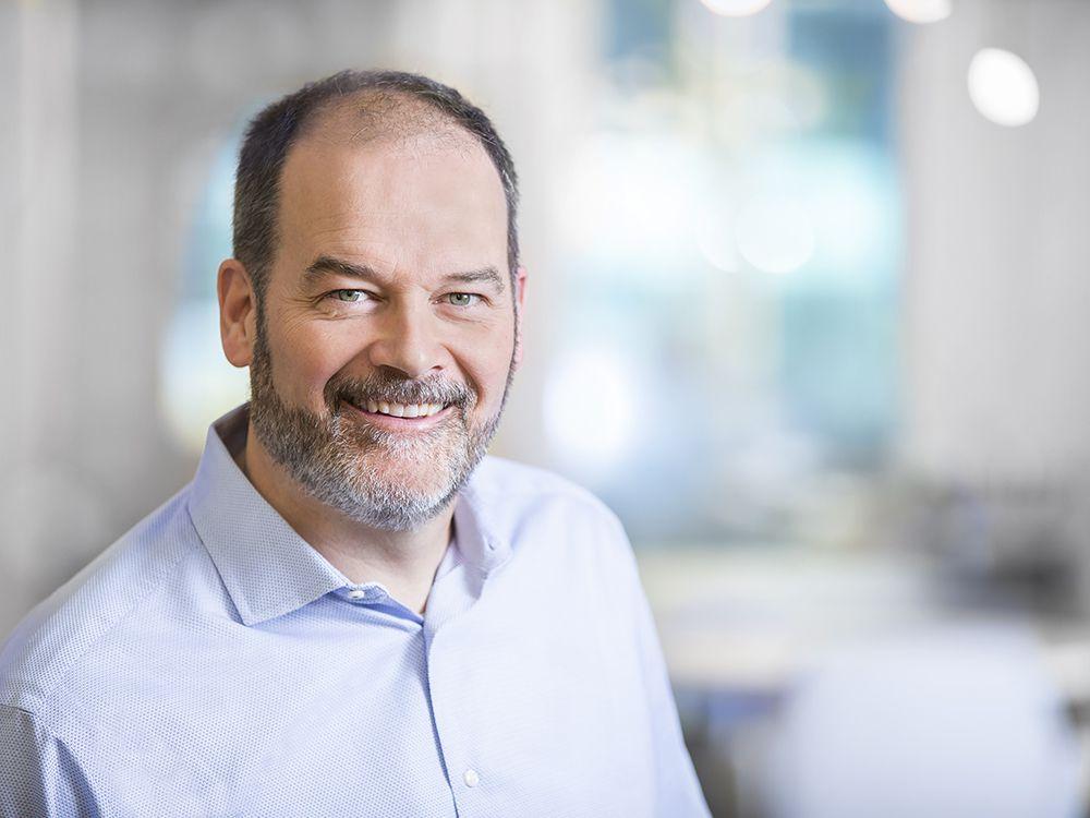 Grant Arnold, CEO of BluEarth Renewables. Thursday, September 13, 2018.