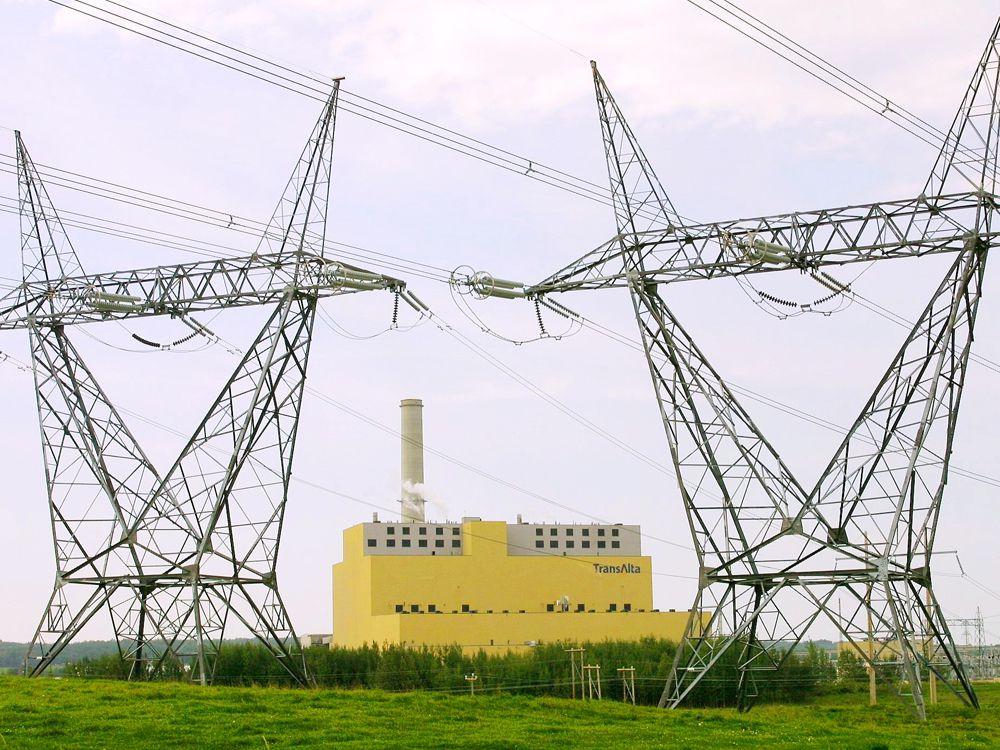 TransAlta's Keephills power plant in Alberta.