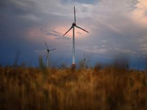 Wind turbines in Germany.