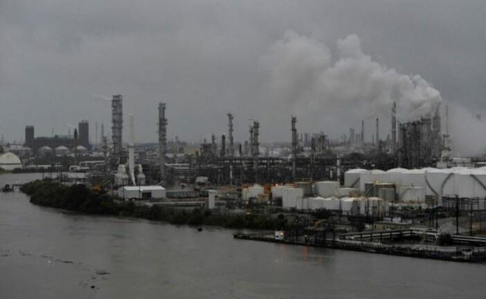 U.S. gasoline in first slide since Harvey, oil under pressure